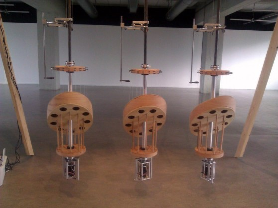 Gravity Harps v2 at Mu Gallery