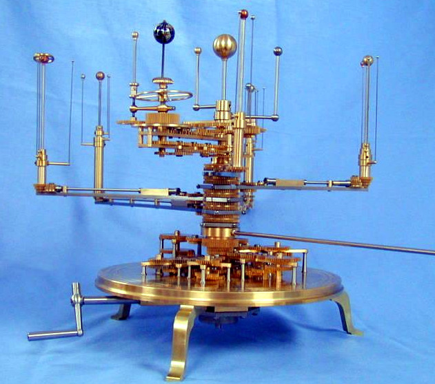 Modern Orrery 'Overweight Archie'